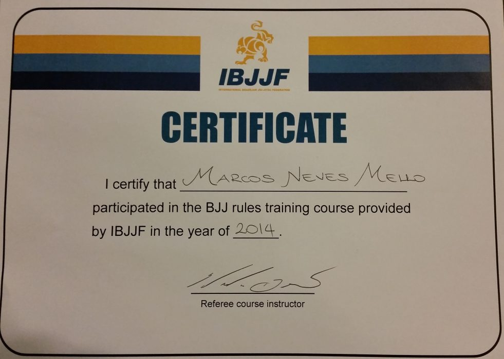 IBJJF Rules