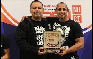 1st place in IBJJF International Jiu-Jitsu Championship in Amsterdam 2018.