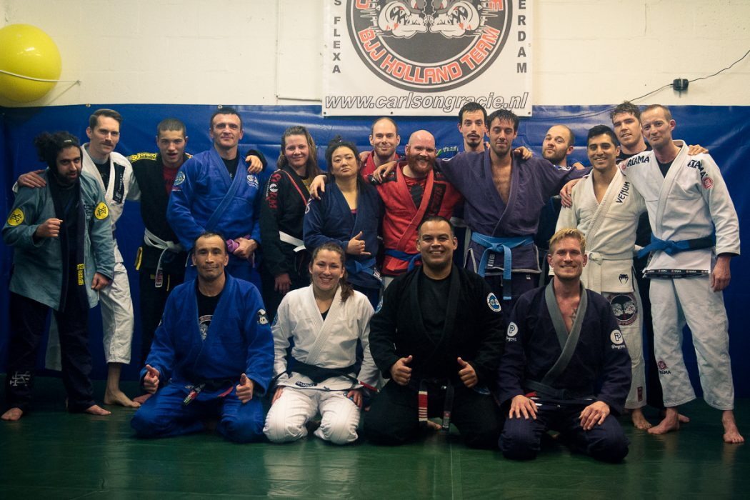 The First Female Brazilian Jiu-Jitsu Black Belt at Carlson Gracie Amsterdam .