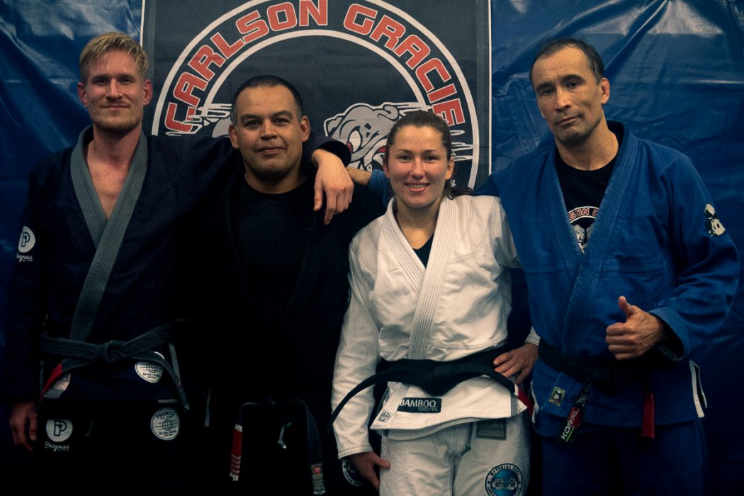 The First Female Brazilian Jiu-Jitsu Black Belt at Carlson Gracie Amsterdam . A Historic Moment For Brazilian Jiu-Jitsu Amsterdam .